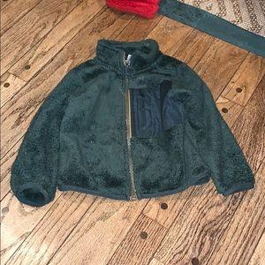 GUC Carter's Hunter Green Toddler Fleece Jacket